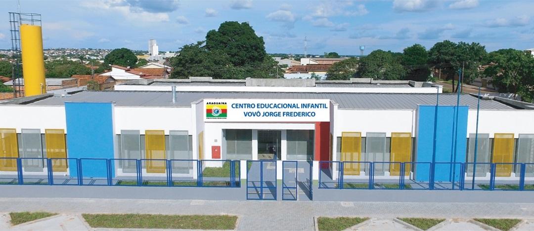 Araguaína volta às aulas com inauguração de creche e vagas sobrando