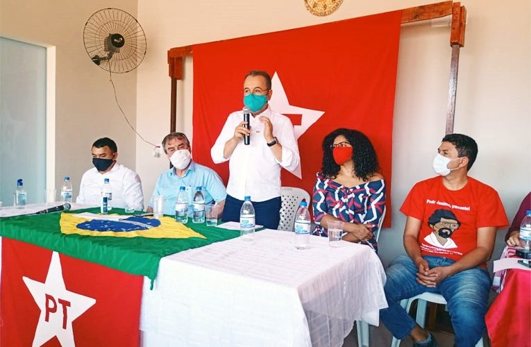 PT oficializa candidatura de Juiz Leador e professora Vera e vereadores em Araguaína